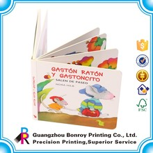 China Supplier Wholesale Pocket Cardboard Photo Board Book Printing Custom with Pen