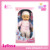 Vinyl material and soft 16 inch body doll with 4 IC