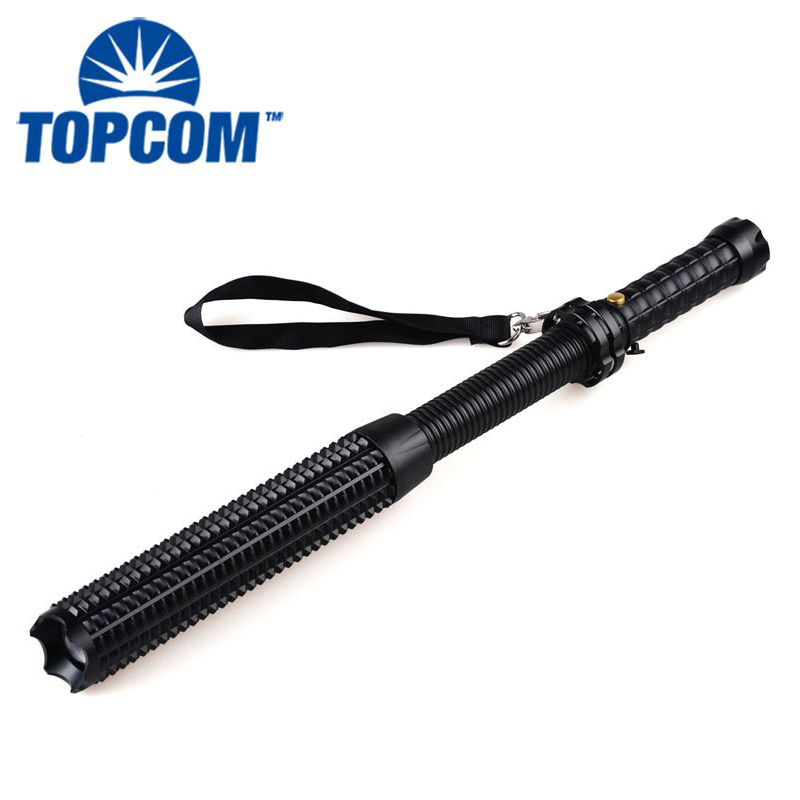 waterproof police security zoomable led torch long range led flashlight