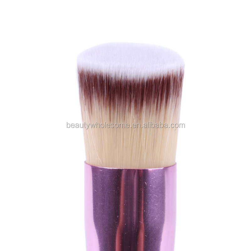Oblique make up brush oblique flat top single cosmetic brush