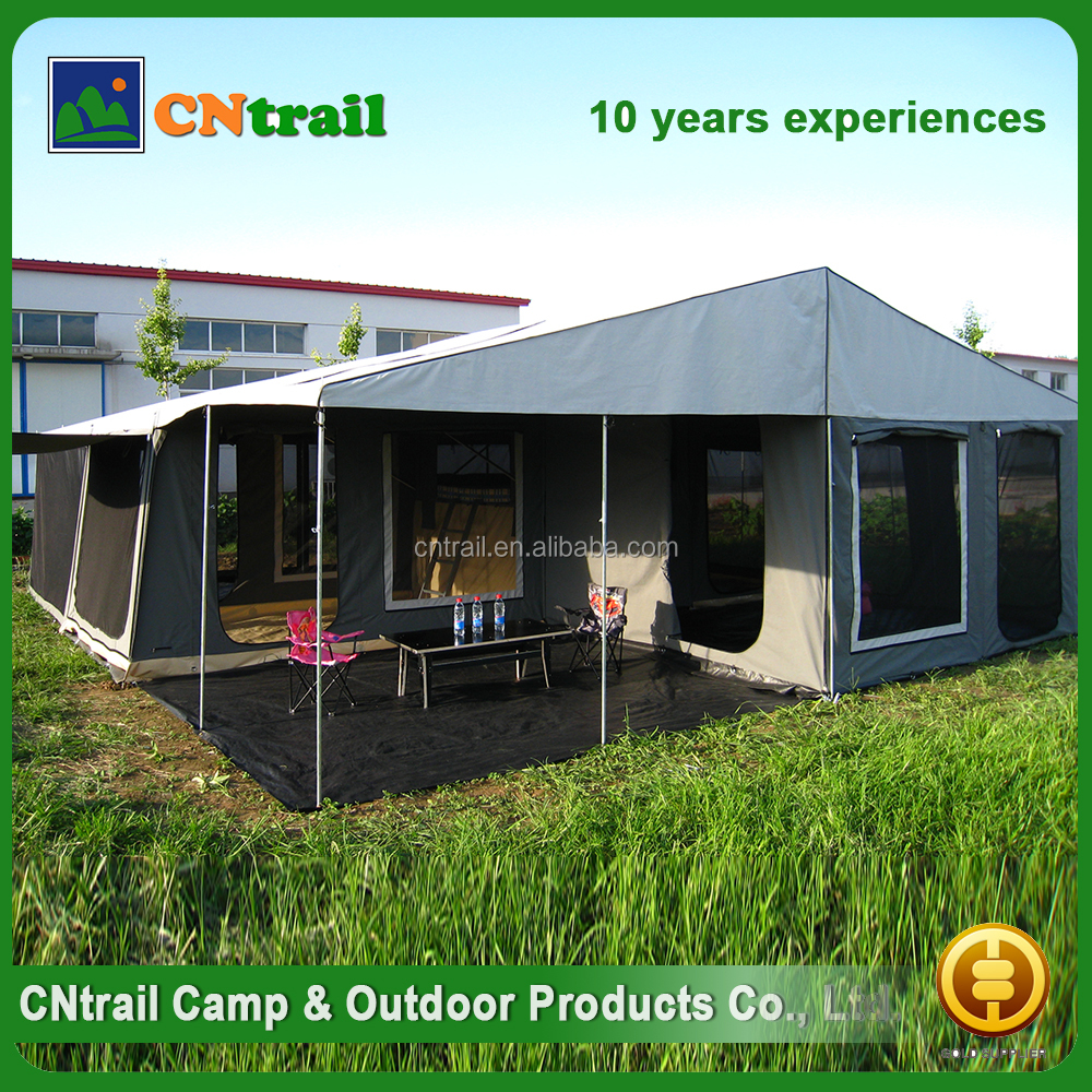 Wholesale china factory camping equipment offroad trailer tent
