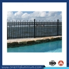 security aluminium fence prefab fence panels metal picket fence