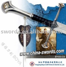 lord of the rings sword Movie sword Cosplay tools BY033-CS