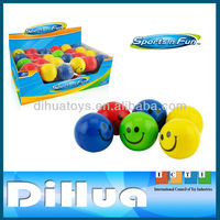 6.3CM Smiley Face 3 In 1 PU Foam Stress Ball Toy Set