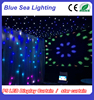 Stage decoration light DMX P5 screen display video flexible led curtain