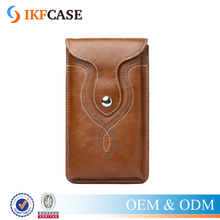 Universal Retro Leather Case Pouch Waist Bag Holster Belt Clip for iPhone 6 6S Plus & Samsung Galaxy Note 4 5 S7 Edge & More