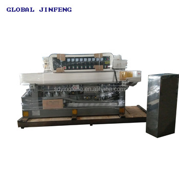 JFE-8242 8Motors competitive price Glass straight line edge grinding and polishing machinery