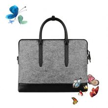 Flap 15.4inch unbreakable laptop bag logo printing
