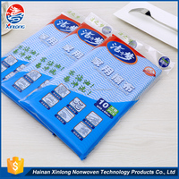 New design promotional soft cleanroom disposable lint free nonwoven towel cleaning cloth