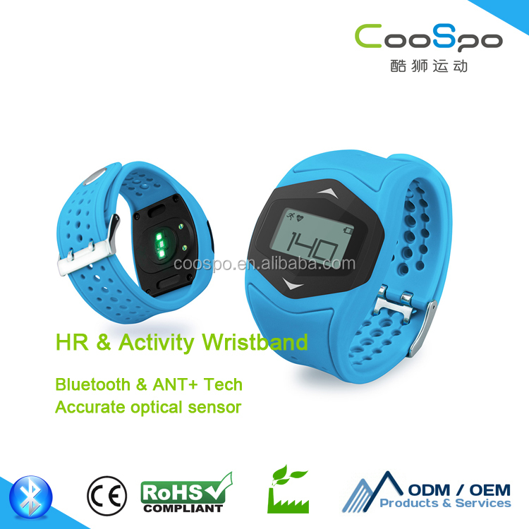 CooSpo fitness care health wristband with heart rate monitor