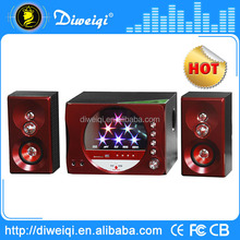 2015 2.1 multimedia active speaker system With USB SD FM Remote