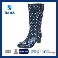 new style sexy polka dot high heels for kids girl