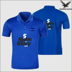 Logo Customized Promotional Cotton Polo T Shirt