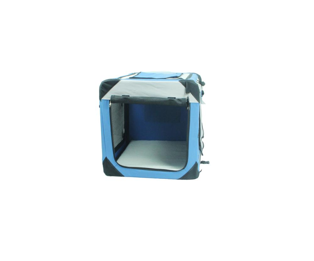 Custom indoor dog houses airline approved foldable pet travel carrier