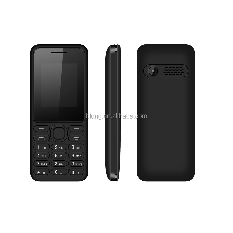 "Low End Feature Cell Phone Spreadtrum Quad Band GPRS 1.77"" TFT Screen Bluetooth Dual Sim Made"