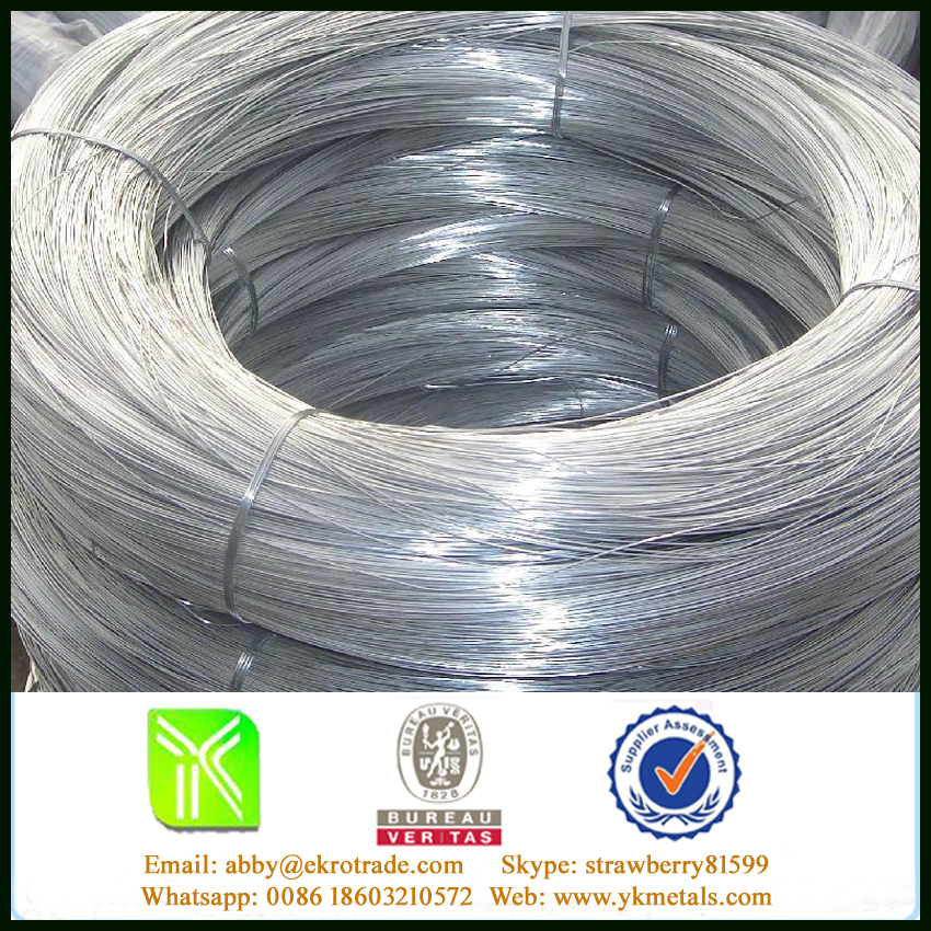 Soft Galvanized Decorative Iron Wire For Fake Hair Binding