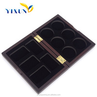 Hot sell Promotion new arrive wood plastic custom coin box