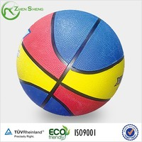 Zhensheng Rubber Basketball Rubber Surface and Rubber Bladder