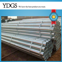 Tianjin galvanized pipe ! erw mild steel tube chinese hollow tube standard size