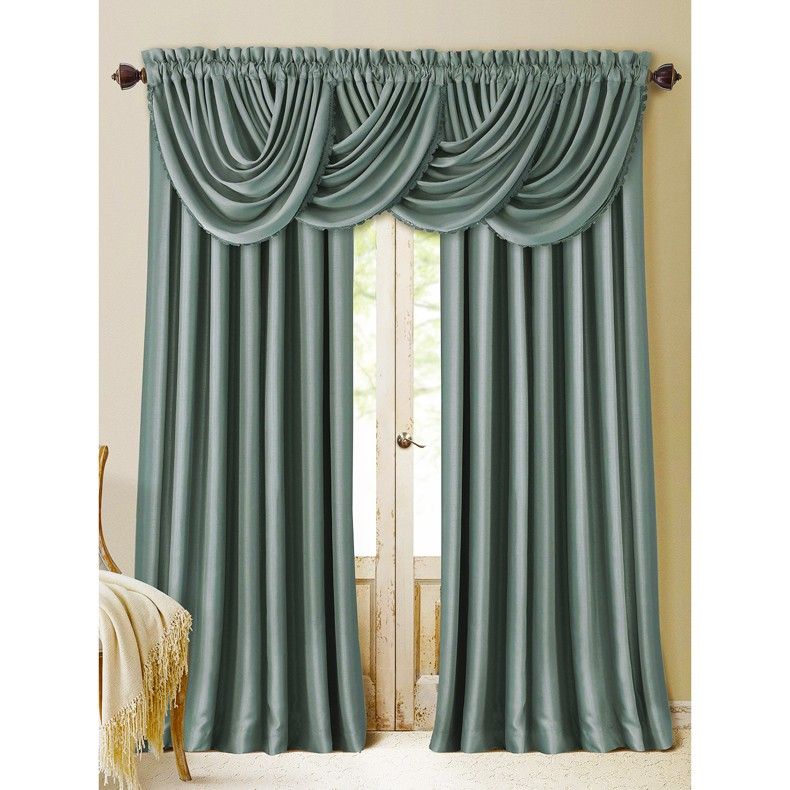 New Product Two in One Piece Fancy Blackout Drapes