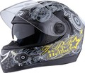 Adults full face helmet with double visor---ECE/DOT Certification Approved