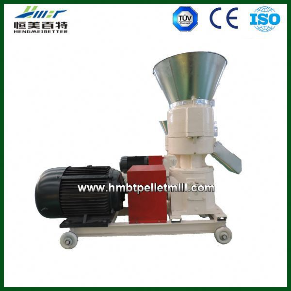 100% compress poultry and cattle feed pellets machine