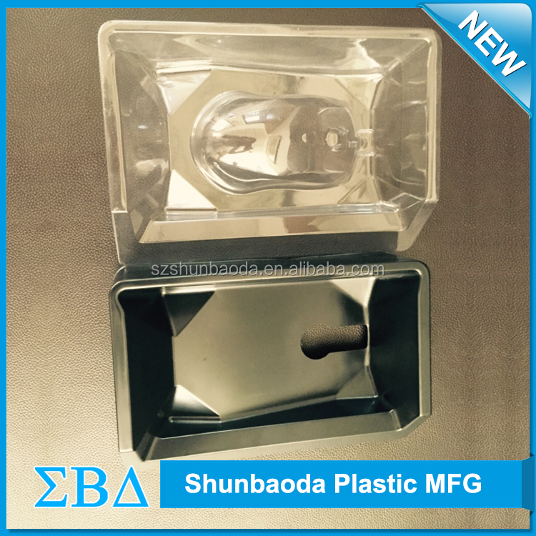 New product 2016 pvc blister packing tray, Clear vacuum forming, vacuum formed plastic tray