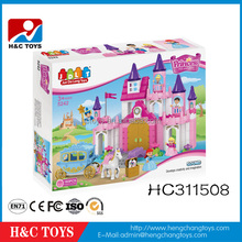 Special Offer!2016 Christmas gift intelligence products plastic building block princess house toy blocks HC311508