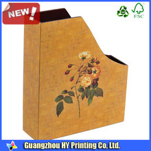 beautiful wood made standing file box