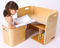 children study table and chair (bentwood range)