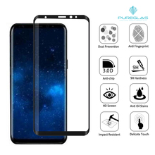 For Galaxy Note 8 Case Friendly 3D Curved HD Anti-Bubble Scratch Fingerprint Proof Transparent Tempered Glass Screen Protector