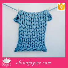 Handmade Knitted Baby Blanket Shawl, 60*60cm Knitted Blanket