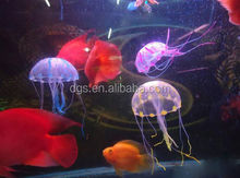 Cheapest Jellyfish Fish Aquarium Decorative Tank Glowing Simulation Blubber Acaleph Water Play Landscape Ornament Toy