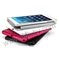 Fashion 7 Color Backlighting Aluminum Wireless Bluetooth Backlit Keyboard Case for iPad Mini Retina