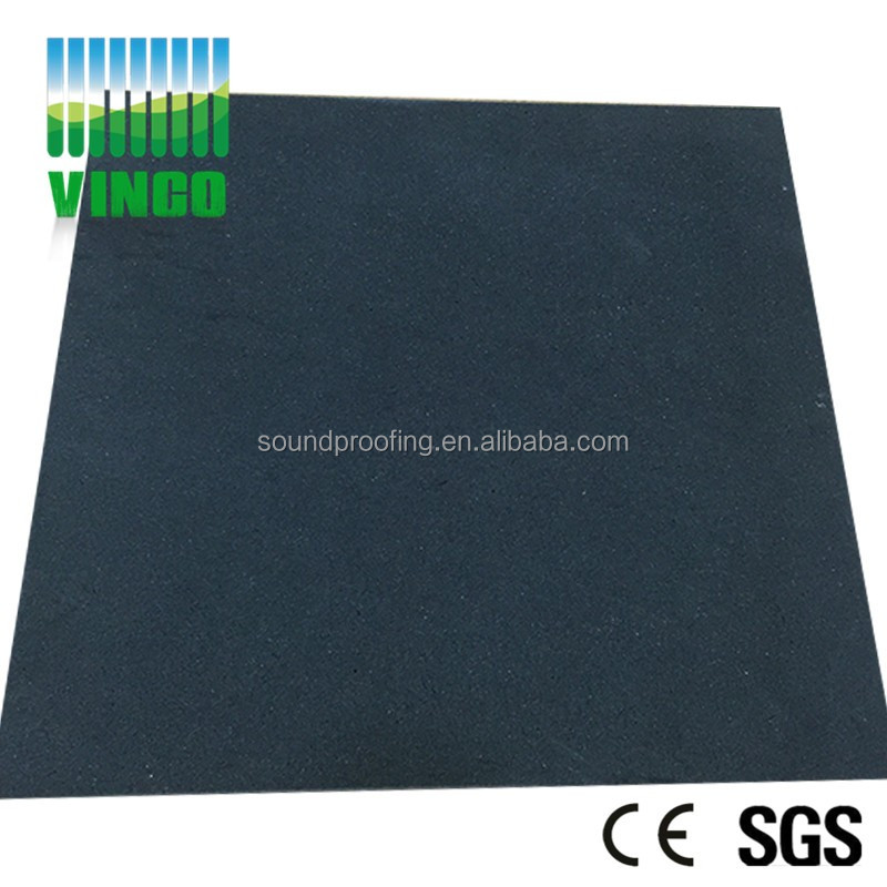 Rubber fire rated architectural acoustic foam with noise control Sound Proof flame retardant Foam