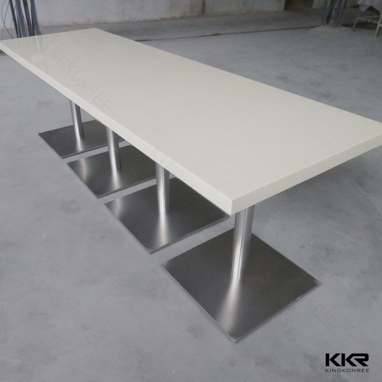 solid surface conference table, school chairs and tables