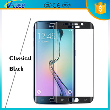 2016 OEM New product Full cover Japan TPU tempered glass screen protector for Samsung Galaxy S6 Edge