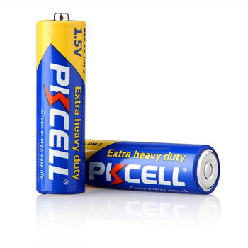 PKCELL Aluminum foil Jacket r6p aa battery 1.5v super heavy duty battery china price