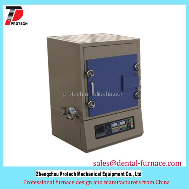 Low price electric inert gas muffle furnace with High Temperature Energy Saving
