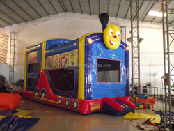 2015 fire truck inflatable bounce house, inflatable fire truck for sale