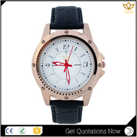 Quick Lead Japan Movement attractive Glass Mineral Romanson Quartz Stainless Steel Watch Y020