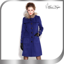 Maxnegio red wool coat plus size women coat for knee length winter coat