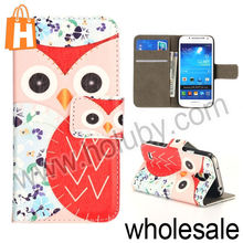 Owl Leather Case for Samsung Galaxy S3,Foldable Magnetic Flip Wallet Leather Case for Samsung Galaxy S3 I9300