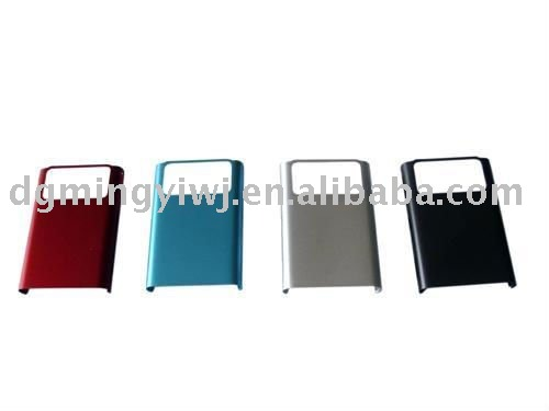 Magnesium alloy die casting for mobile phone housing M002 with beautiful colors made in China