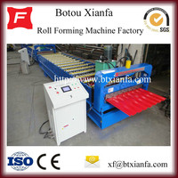 Construction Machinery Metal Roofing Tile/Iron Sheet Glazed Roll Forming Machine High Efficiency
