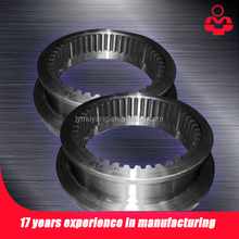 Custom High Quality Forged large module Tooth Ring for wheel excavator