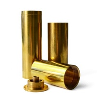 OEM cnc machining turning brass tube from China Manufacturing Factory