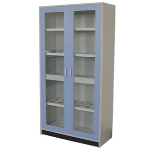 High Quality lab high cabinet , Display Cabinet Metal / Cheap Acid Storage Cabinet