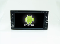 Android 4.4 ,6.9 inch car dvd player for toyota universal +car dvd loader +qual core +OEM+factory directly !