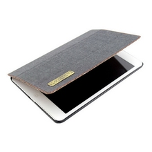 Design Cheapest folding leather tablet case for ipad air